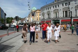 Walking on St. Patrick's Street