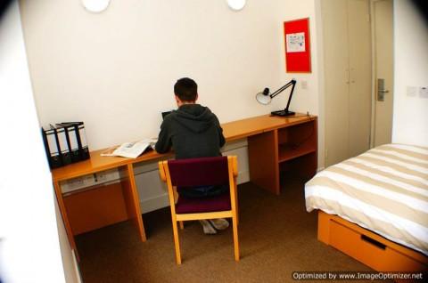 Cork Victoria mills bedroom studying